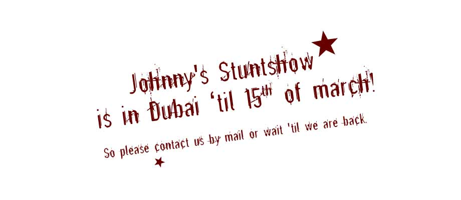 we are in Dubai til 15th of march!